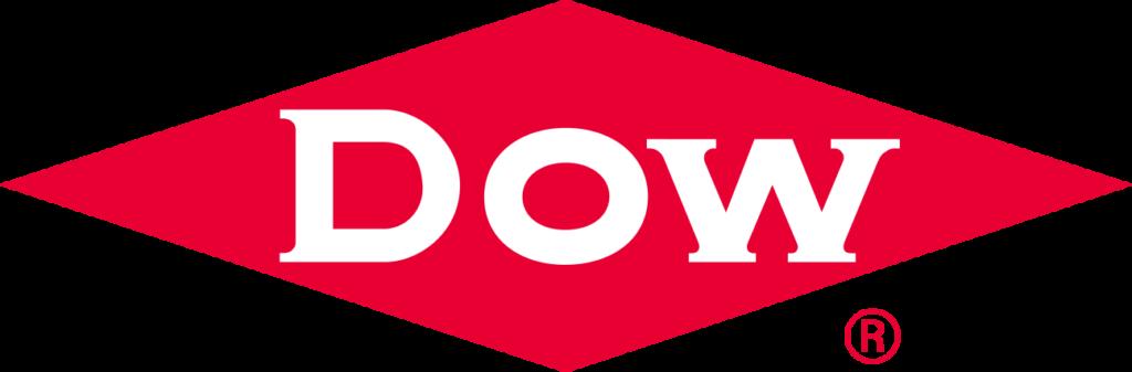DOW red diamond logo