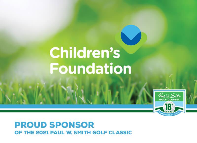 Children's Foundation sponsor ad
