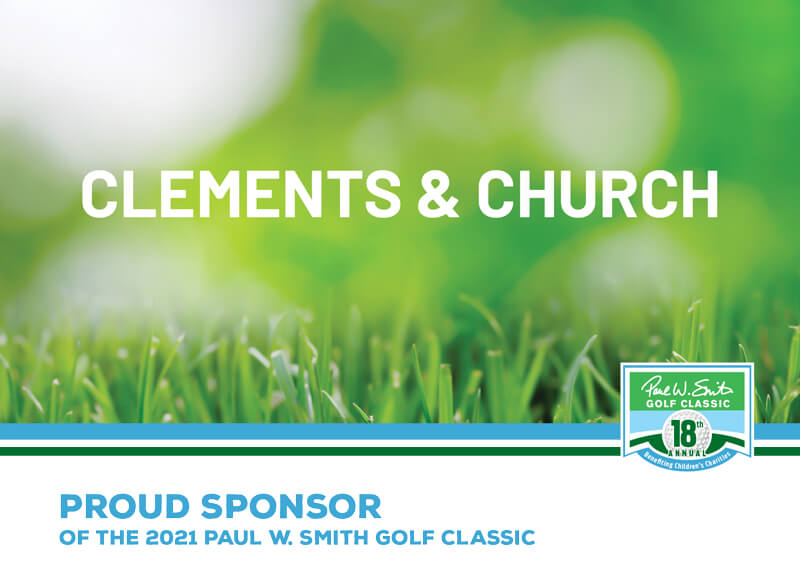 Clements and church sponsor ad
