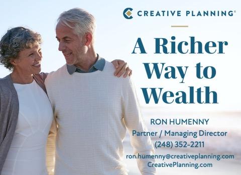 Creative planning sponsor ad