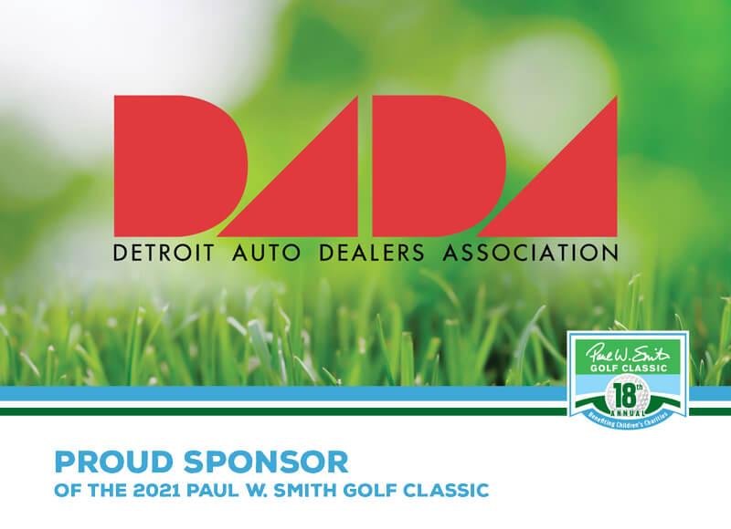 Detroit auto dealer association sponsor ad