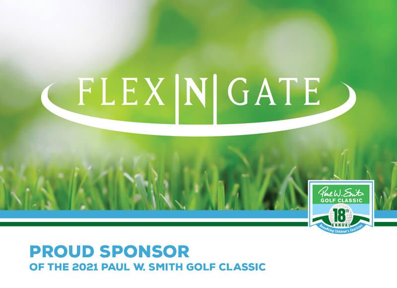 Flex N Gate sponsor ad
