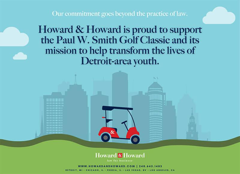 Howard and Howard sponsor ad