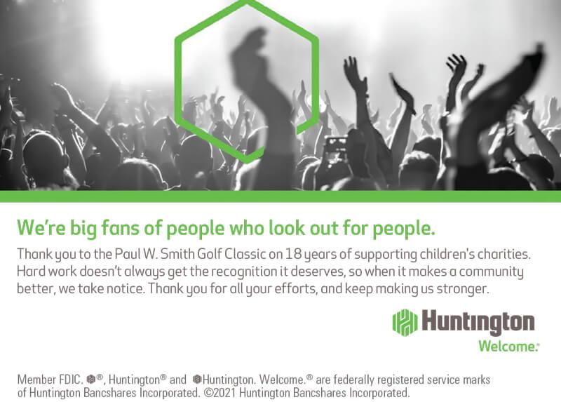Huntington sponsor ad