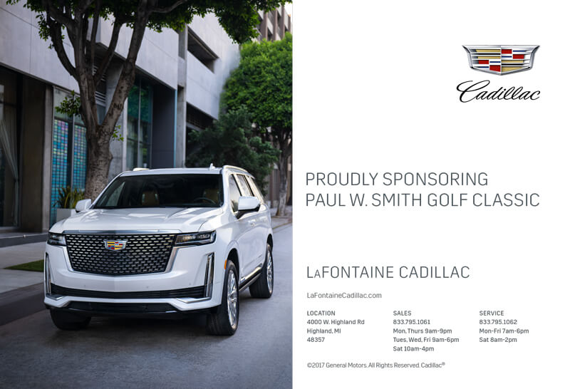 LaFontaine sponsor ad