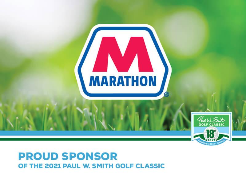 Marathon sponsor ad