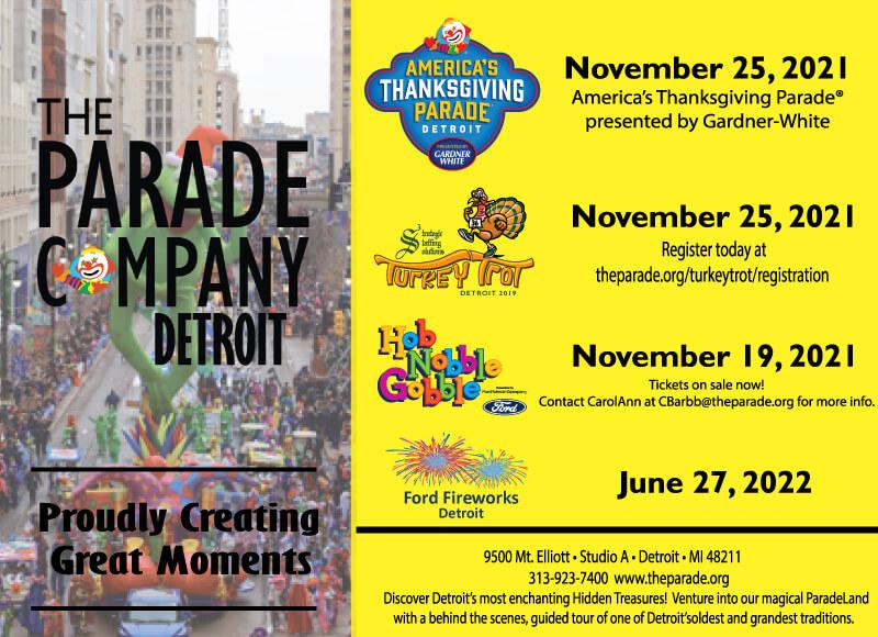 The Parade Company sponsor ad