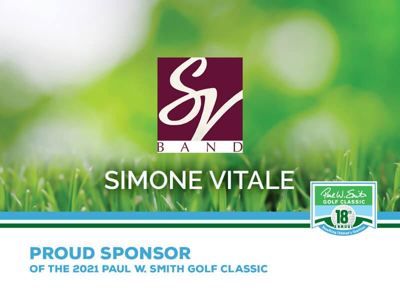 Simone Vitale Band sponsor ad
