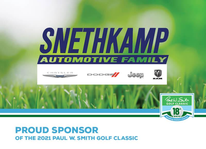 Snethkamp sponsor ad