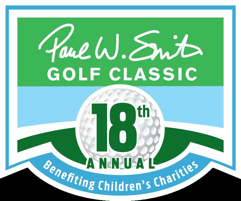 Paul W Smith Golf Classic 18th annual logo benefiting children's charities