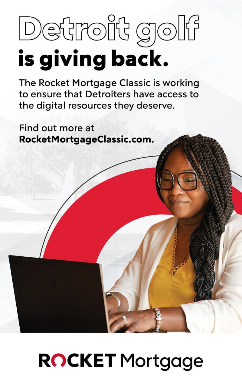 Rocket Mortgage Sponsor ad