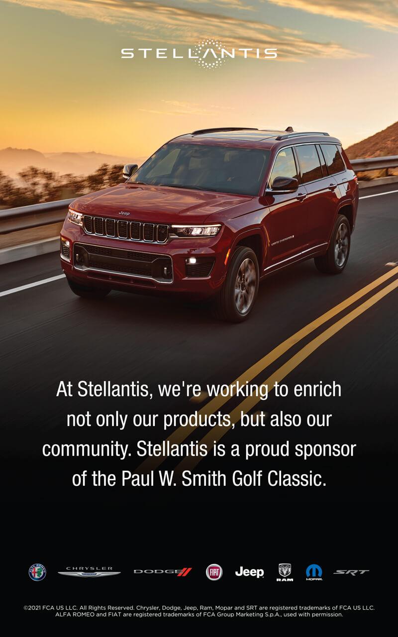 Stellantis sponsor ad