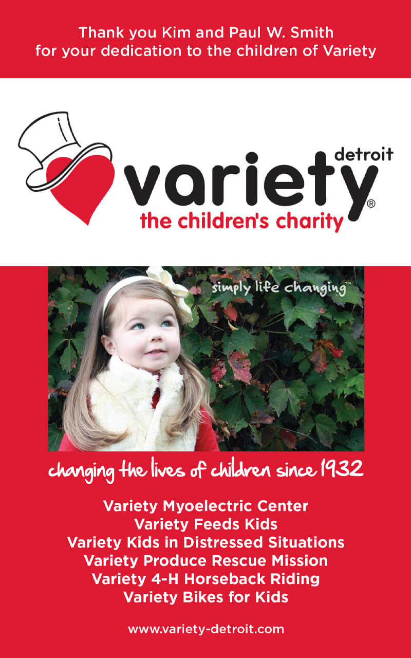 Variety childrens charity ad