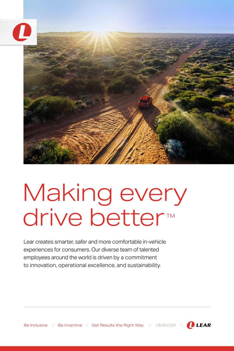 Lear sponsor ad